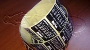 etykiety samoprzylepne na kubki
